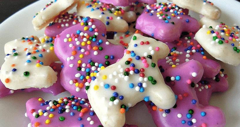 Animal Cookies - Purple Cookies